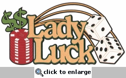 Lady Luck Laser Die Cut