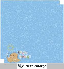 Little Buddies: Give a Dog a Bone 12 x 12 Double-Sided Paper