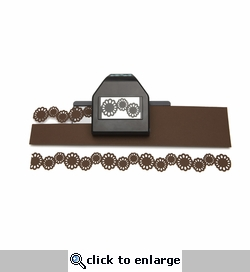 Garden Flower Chain Large Edger Punch