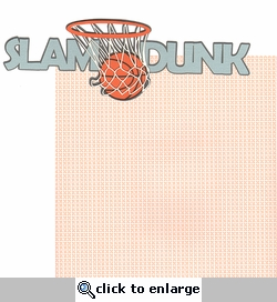 Slam Dunk 2 Piece Laser Die Cut Kit
