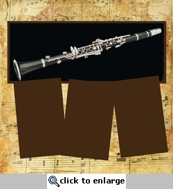 Panorama: Music: Clarinet Frame Kit