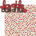 Puppy Love: Lovable Ball Of Fur 2 Piece Laser Die Cut Kit