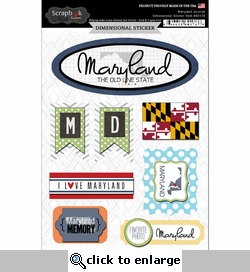 Maryland Journal - Dimensional Sticker