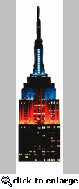 Empire State Building Mini Die Cut