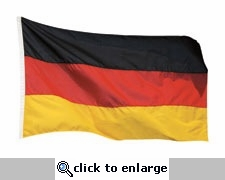 German Flag Mini Die Cut