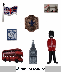 Destination England Buttons
