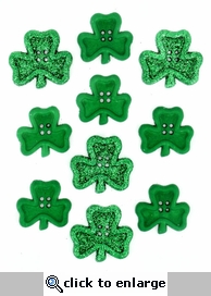 Irish Charm Buttons