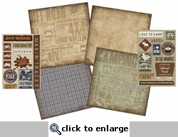 Outdoors 12 x 12 Scrapbook Kit