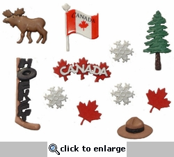 Destination Canada Buttons
