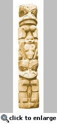 Totem Pole Mini Die Cut