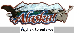 Alaska Laser Die Cut-<font color=red> <b>we &hearts; this</b></font>
