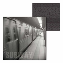 New York: Subway 12 x 12 Double-Sided Cardstock