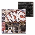 New York: Graffiti 12 x 12 Double-Sided Cardstock