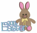 2011 Easter Laser Die Cut