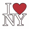 New York: I Love New York Laser Die Cut