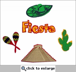 Travel-City: Fiesta Minis Laser Die Cut