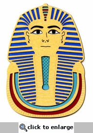 King Tut`s Mask Laser Die Cut