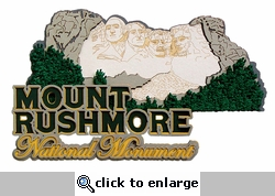 Mount Rushmore Laser Die Cut