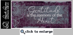 Gratitude Color Vellum Strip