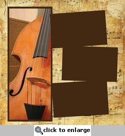 Panorama: Music: Cello Frame Kit