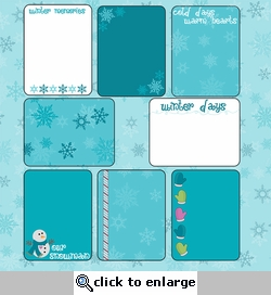 Frosty Fun: Journaling Cards