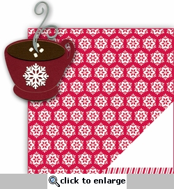 Hot Cocoa 2 Piece Laser Die Cut Kit