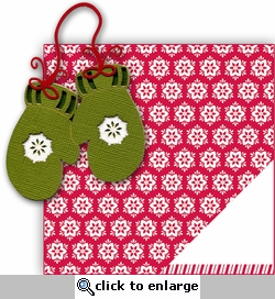 Mittens 2 Piece Laser Die Cut Kit