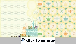 Sunday Picnic: Picnic Basket 12 x 12 Double-Sided Paper#