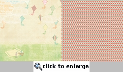 Sunday Picnic: Fly a Kite 12 x 12 Double-Sided Paper#