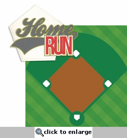 Home Run: Home Run 2 Piece Laser Die Cut Kit
