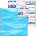 Magic Cruise: At Sea 12 x 12 Double-Sided Cardstock