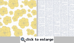 Everyday Moments: Yellow Flowers 12 x 12 Double-Sided Paper