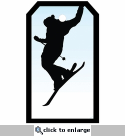 SYT Tag-UR-It Ski Jump Photo Tag