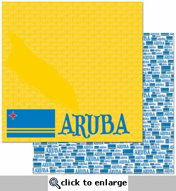 Passports: Aruba 12 x 12 Double-Sided Paper