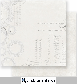 Parisian Anthology: Darling Doilies 12 x 12 Ink Resist Double-Sided Paper