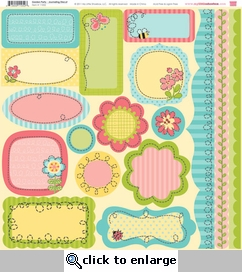 Garden Party: Cardstock Die-Cut 12 x 12 Sheet