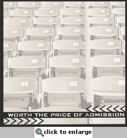 Smack Sports: Worth The Price Of Admission 12 x 12 Overlay Quick Page Laser Die Cut