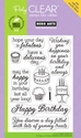Yummy Treats Poly Clear Stamps