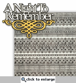 A Night to Remember 2 Piece Laser Die Cut Kit