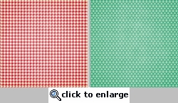 Spring Fling: Houndstooth 12 x 12 Double-Sided Paper