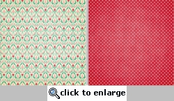 Spring Fling: Mixed Brocade 12 x 12 Double-Sided Paper