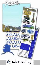 Alaska Land Tour 12 x 12 Kit
