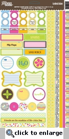 Summer Squash Soup: Coordinating Stickers