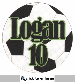Custom Soccer Ball Laser Die Cut