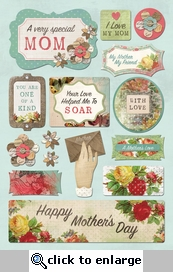 Mother & Father: A Very Special Mom Cardstock Stickers