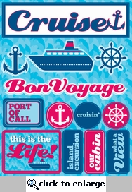 Cruise 3D Sticker