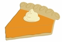 Digital Download: Slice of Pumpkin Pie Laser Die Cut
