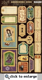 The Magic of Oz: #2 Chipboard Die Cuts