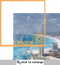 Mexico: Cancun 12 x 12 Overlay Quick Page Laser Die Cut