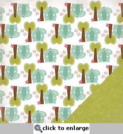 Ellie: Horton 12 x 12 Double-Sided Paper